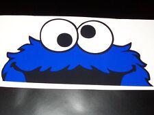 Cookie Monster 7X14 sticker JDM Low car truck window decal Mud Jeep 4X4 Mini Van