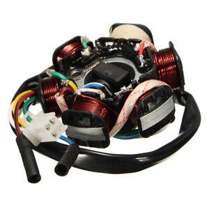 6-Poles-Stator-Plate-Magneto-Generator-Coil-110cc-125cc-150cc-ATV-Pit-Dirt-Bike