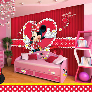 VLIES Tapete Fototapeten Tapeten DISNEY MICKEY MINNIE MAUS KINDER ...