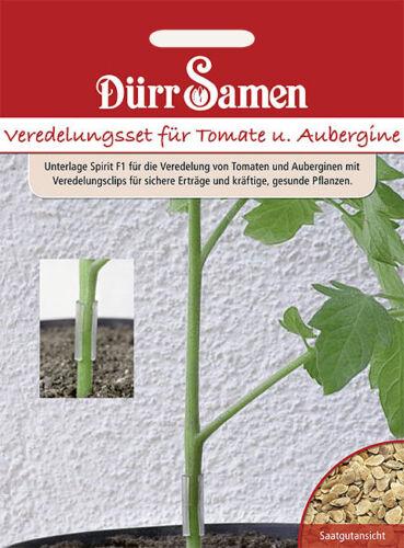 Dürr   Veredelungsset für Tomaten ´/& Auberginen  ertragssteigernd