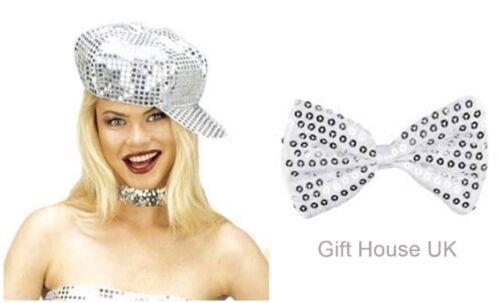 70/'S Disco sequin Hat Cap Fancy Dress Accessory Hen Party