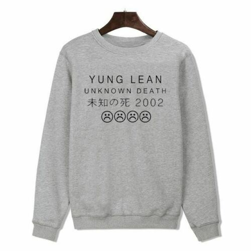 LUCKYFRIDAYF YUNG LEAN Rock Band Mens Hoodies and Sweatshirts 2016 Autumn Fashio