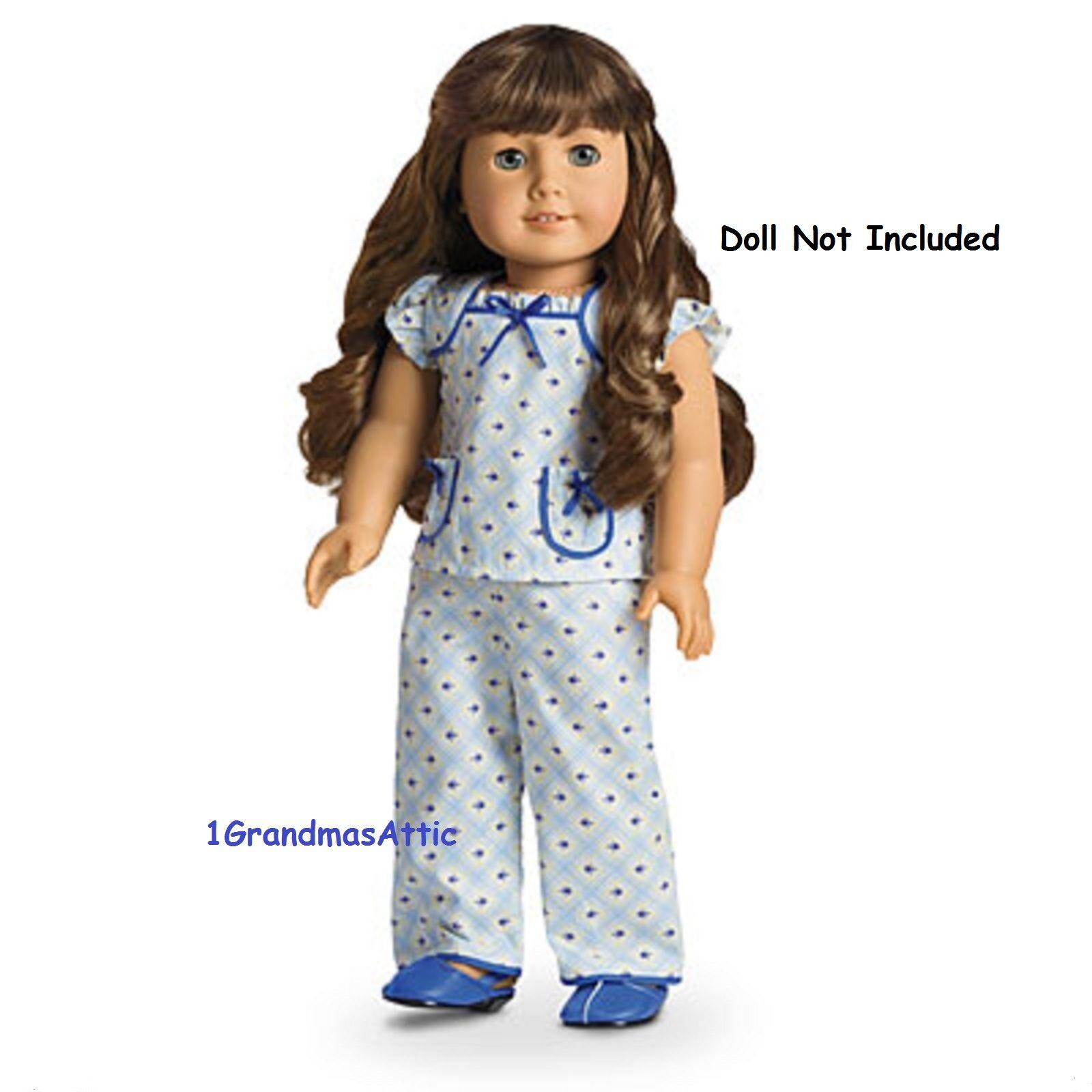 AG American Girl Nightwear Nightgown PJs Robe Cecile/'s Marie Grace NIB NRFB