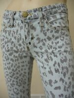 NWT Current/Elliott The Stiletto Skinny jeans in bleached out leopard