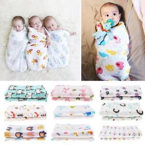 122494b9c99 Image is loading Newborn-Infant-Baby-Swaddle-Cotton-Blanket-Boy-Coming-