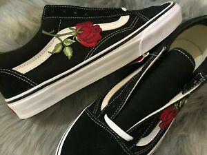 patch rose vans