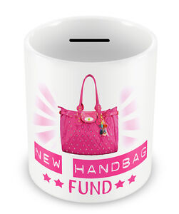 Image Is Loading New Handbag Fund Money Box Piggy Bank S