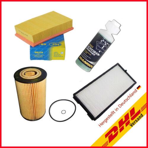 Geschenk Luft Ölfilter BMW 5er E34 518 g 518 i u Innenraum-//Pollenfilter