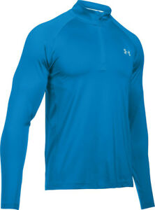 538167c1f2eae Under Armour Men's Blue UA CoolSwitch Thermocline 1/4 Zip Fishing ...
