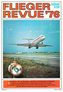 2f7608/ Luftfahrtmagaz<wbr/>in - Flieger Revue Nr. 282 - 8/1976 - TOPP HEFT