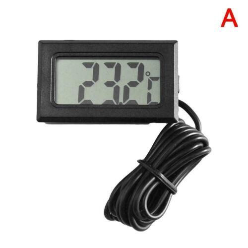 New Mini Digital LCD Thermometer Hygrometer Humidity Fish Tank Hot D6F0