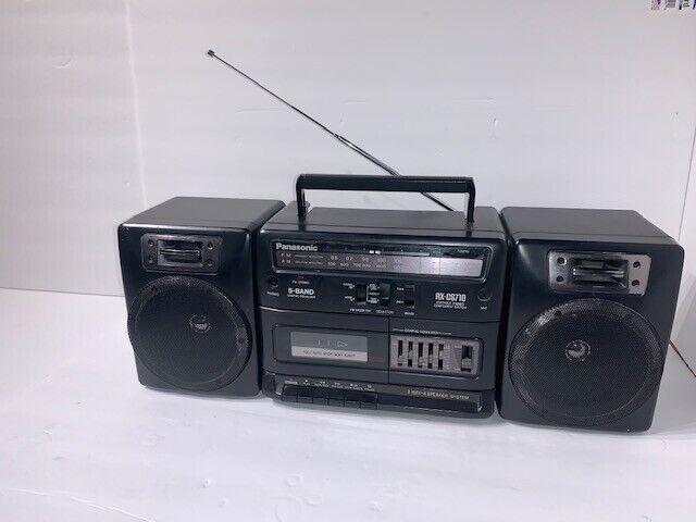 Vtg Radio Cassette Boombox Panasonic Fm14 For Sale Online Ebay