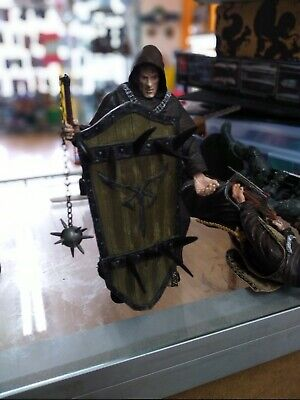 NECA Resident Evil 4 Series 2 Action Figure Black Zealot with Shield