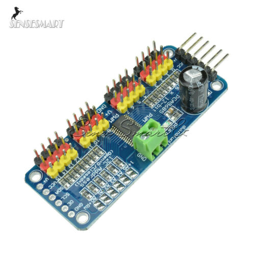 PCA9685 16 Channel 12-bit PWM Servo motor Driver shield I2C For Arduino Robot ST