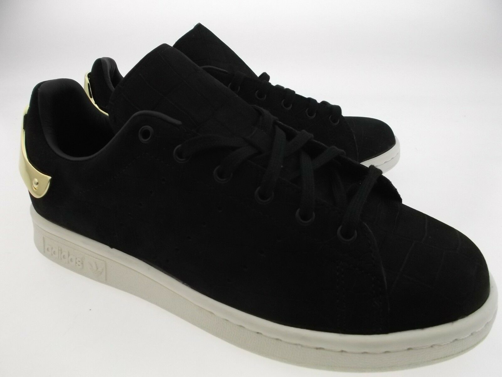 150 metall adidas frauen stan smith metall 150 schwarzes gold s82482 sz 6 8 9 aa2762