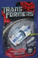 Transformers Movie Deluxe Class Autobot JAZZ Exclusive White 5 Inch New 2007