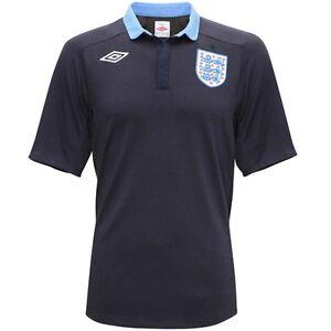 Genuine-Umbro-England-Ladies-Away-Shirt-2011-2012-Navy