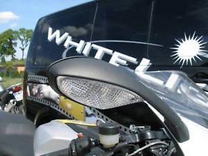 Blanc-Front-Clignotants-BMW-r-1200-s-K-1200-s-K-1300-s-Clear-signals-indicators