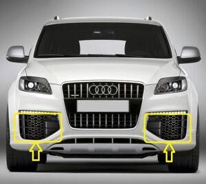 Genuine-AUDI-Q7-V12-07-16-Front-Bumper-Lower-Grill-LEFT-RIGHT-PAIR-SET