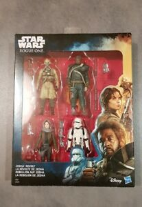 STAR-WARS-Rogue-One-Jedha-Revolt-4-Figure-Pack-Two-Tubes-Gerrera-Jyn-Hovertank