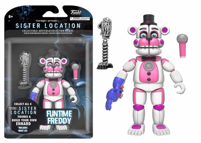New 2017 Five Nights At Freddy's SISTER LOCATION Funtime Freddy 5
