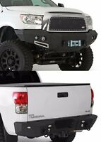 Smittybilt Front & Rear D-ring Bumper Set W/ Light Kits 2007-2011 Toyota Tundra