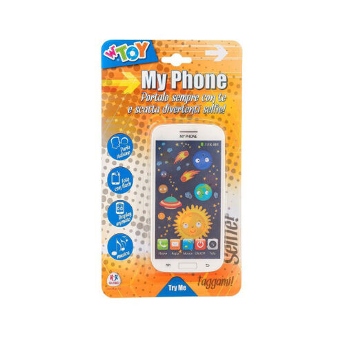 Telefonino Smartphone Giocattoli my Phone Cellulare finto bambini voce ITALIANO