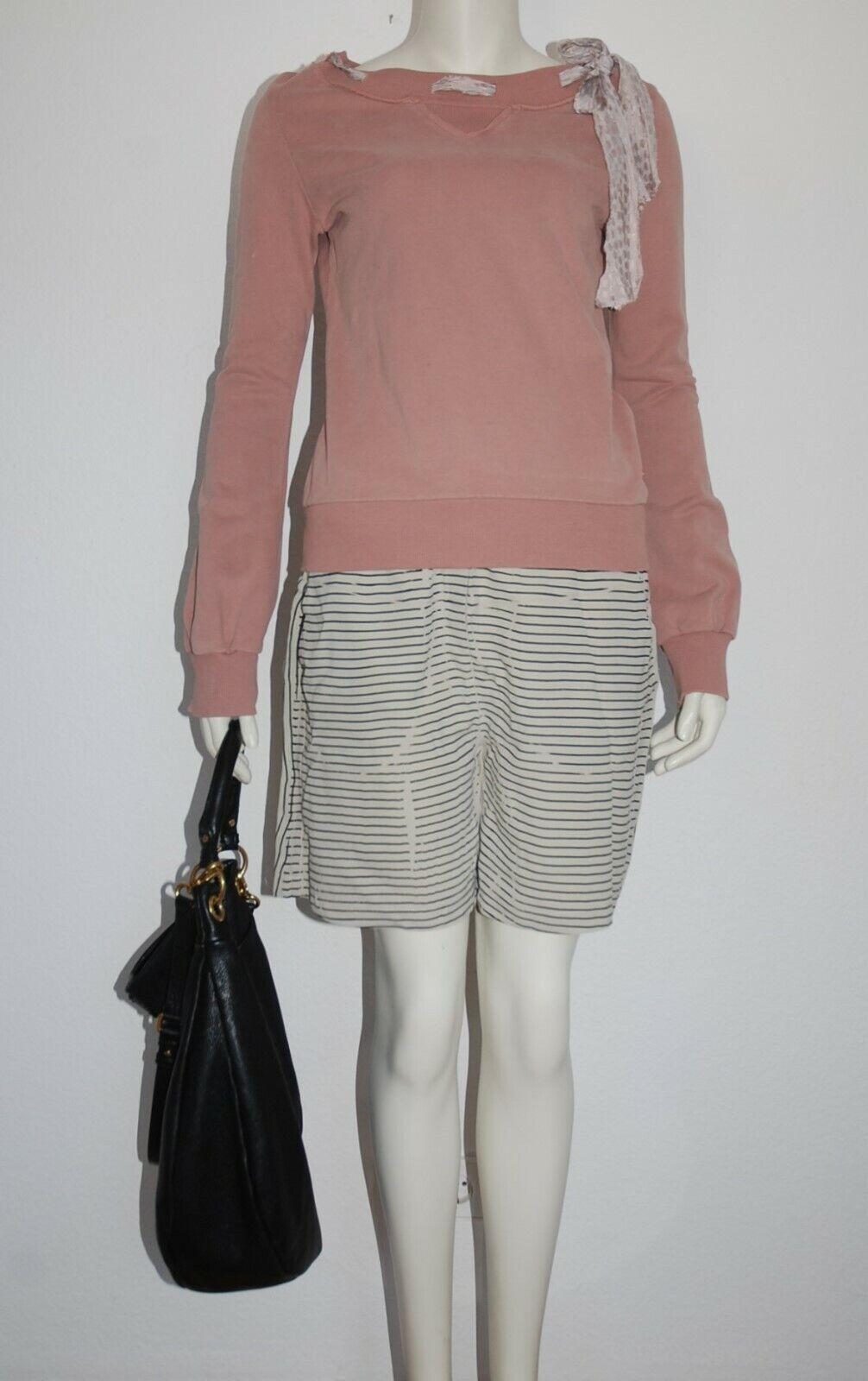 8PM * leichte Shorts * kurze Hose in lässigem Style * Beige Schwarz * S wie NEU