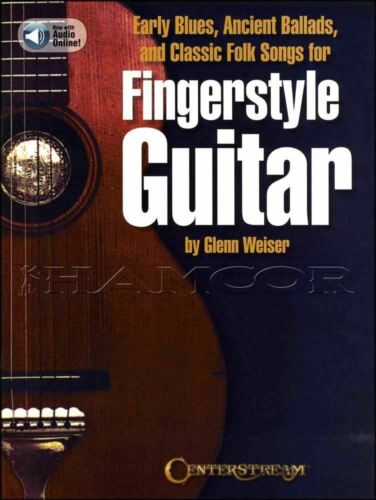 Ancient Ballads /& Classic Folk Songs Fingerstyle Guitar TAB Music Early Blues