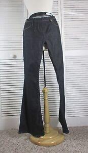 Women S Jeans Sass Bide Nwt With Each Beat Flare Jeans Dark Rinse S 32 S Cda Ebay