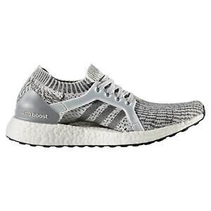 White Adidas Ultra boost X Running Shoes Womens Adidas Ultra