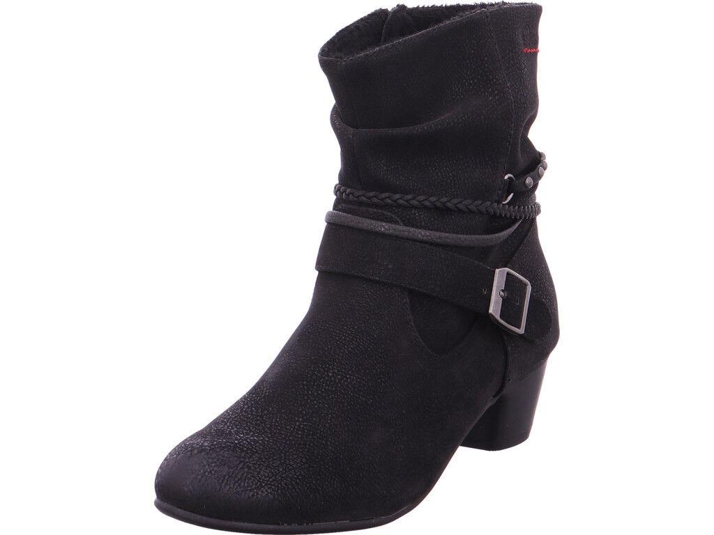 s.Oliver Damen Stiefel schwarz schwarz Stiefelette Woms