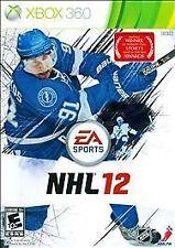 NEW NHL 12  (Xbox 360, 2011) Hockey NTSC