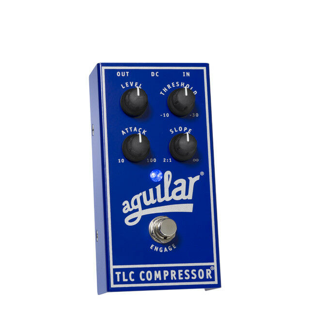 Aguilar TLC Compressor Dynamics Boutique Guitar Bass Effects Pedal