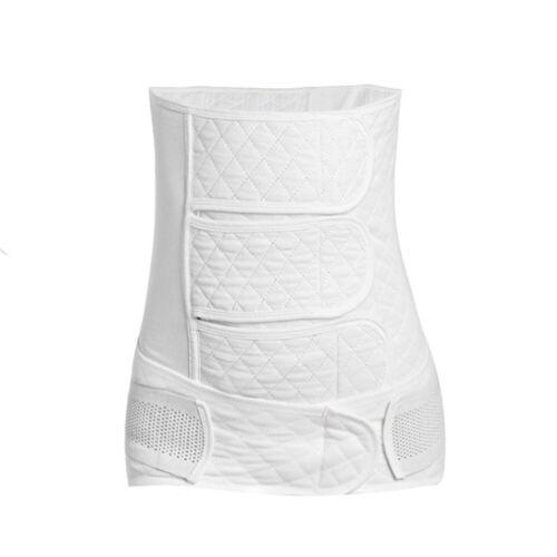 Women/'s Postpartum Waist Trainer Body Shaper Belly Wrap Compression Shapewear
