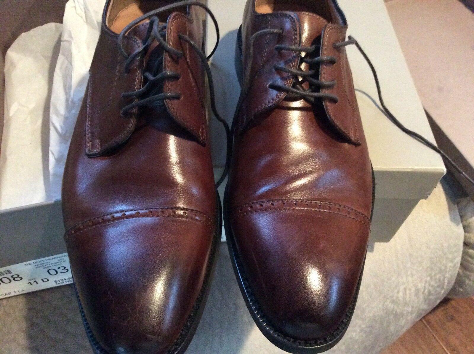 Joseph Abboud Oxfords Cognac Dress shoes Size 11 D