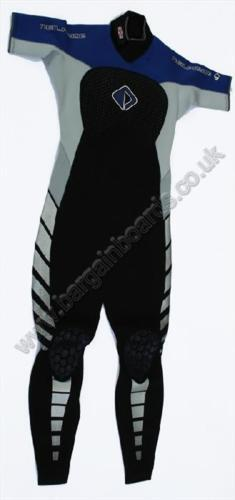 Less than 50% off NPX Short Sleev 3 2mm Spring  - Autumn Wetsuit grey bluee. 17452  best-selling