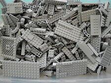 LEGO Lite Blue Gray 1/4 lb Bulk Lot of Bricks Plates Specialty Parts Pieces