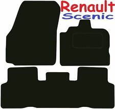 Renault Scenic Tailored car mats ** Deluxe Quality ** 2009 2008 2007 2006 2005 2