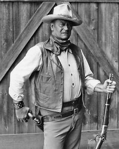 American Actor JOHN WAYNE Glossy 8x10 Photo Cowboy Print Academy Award Winner