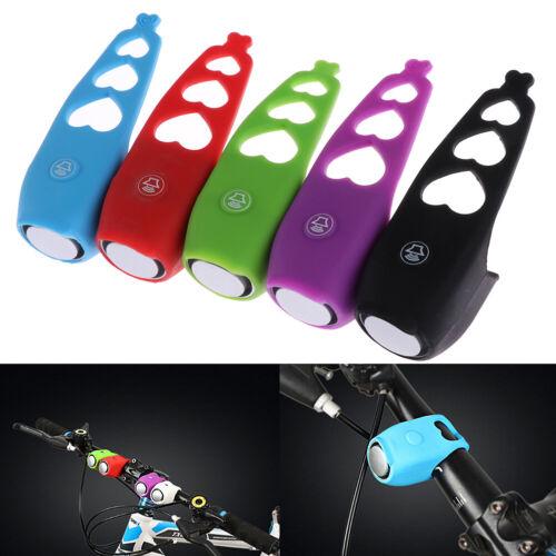 120db Bike Bell Electric Waterproof Road Bicycle Alarm Horn Silica Gel SheTE