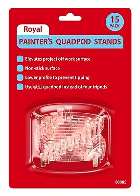 Royal Painters Quadpod Pyramid Stands 15-packPainting Staining Gluing Tripod