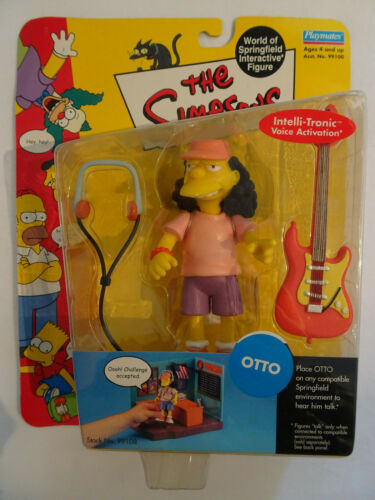 The Simpsons World of Springfield Figurine Série 3 Otto 2000 Playmates
