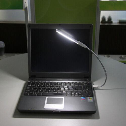 Flexible USB 8 LED Light Lamp Keyboard Reading For Notebook Laptop PC GK
