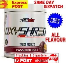 EHP Labs OXYSHRED FREE EXPRESS AUS POST EHPLABS OXY SHRED Thermogenic Fat Burner