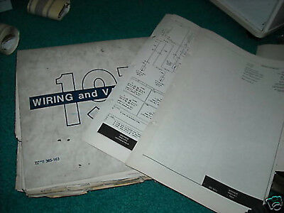 1973 FORD PINTO FACTORY WIRING DIAGRAMS MANUAL SET | eBay