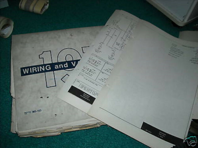 1973 Ford Pinto Factory Wiring Diagrams Manual Set