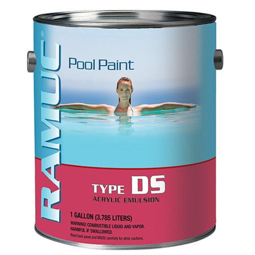 Ramuc Ds32801 Tipo Ds a base de Agua Acrílico Piscina Pintura - Amanecer Azul