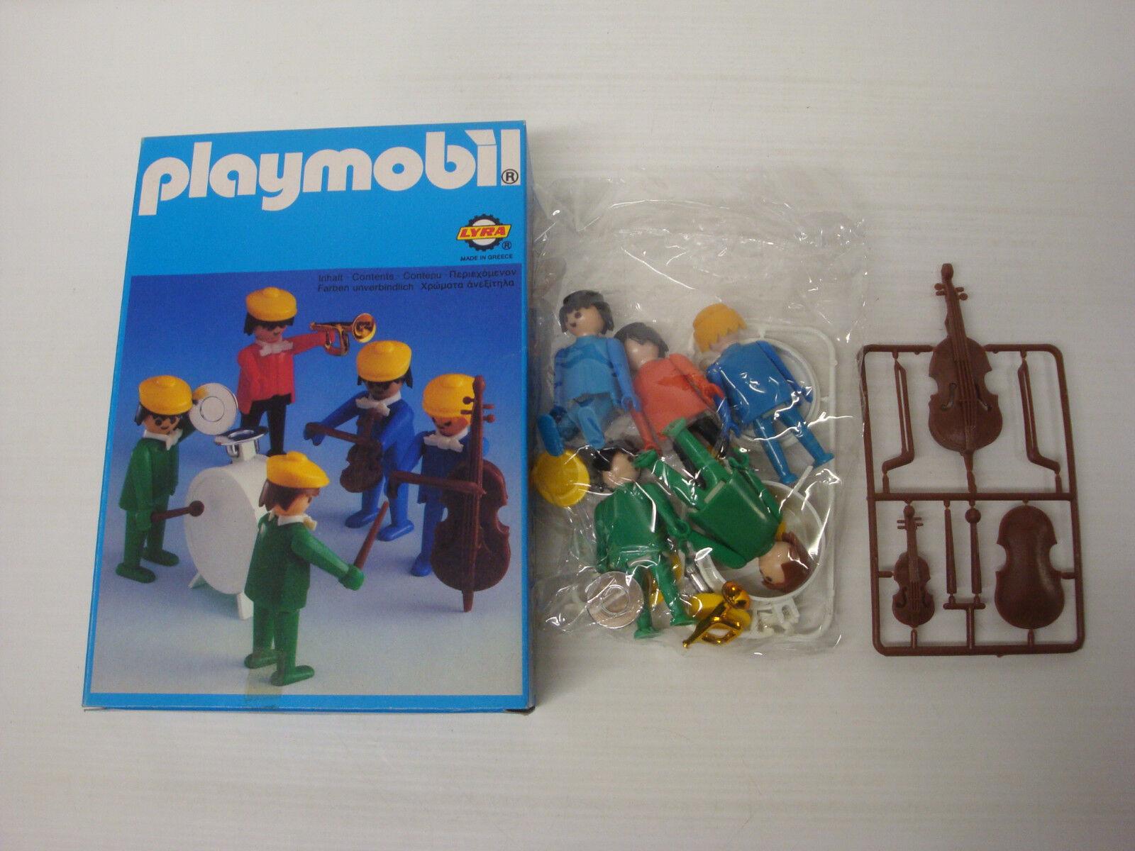 Playmobil LYRA état neuf en boite sachet scellé - groupe musiciens 3L41