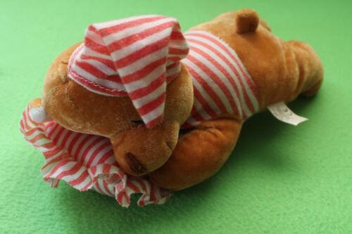 Stofftiere Flo's Toys Bär Teddy Schmusetier Kuscheltier Stofftier Plüsch 27cm groß  RAR